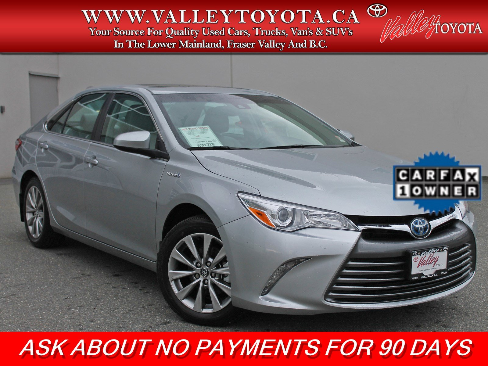 Certified Pre-Owned 2017 Toyota Camry Hybrid NO ACCIDENTS / VERY LOW KM's / NAVIGATION