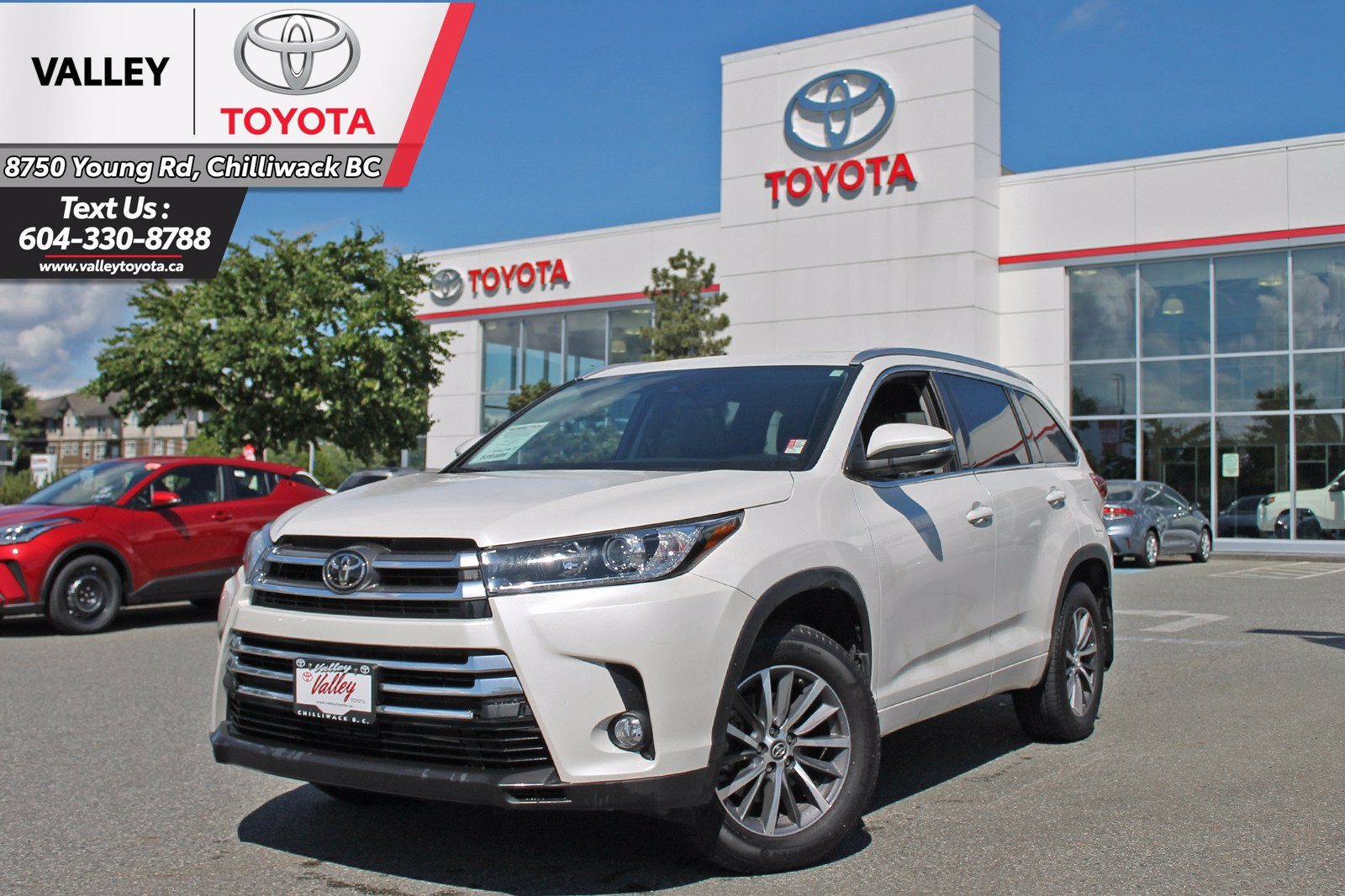 Certified Pre-Owned 2018 Toyota Highlander XLE / NAVIGATION / NO ACCIDENTS