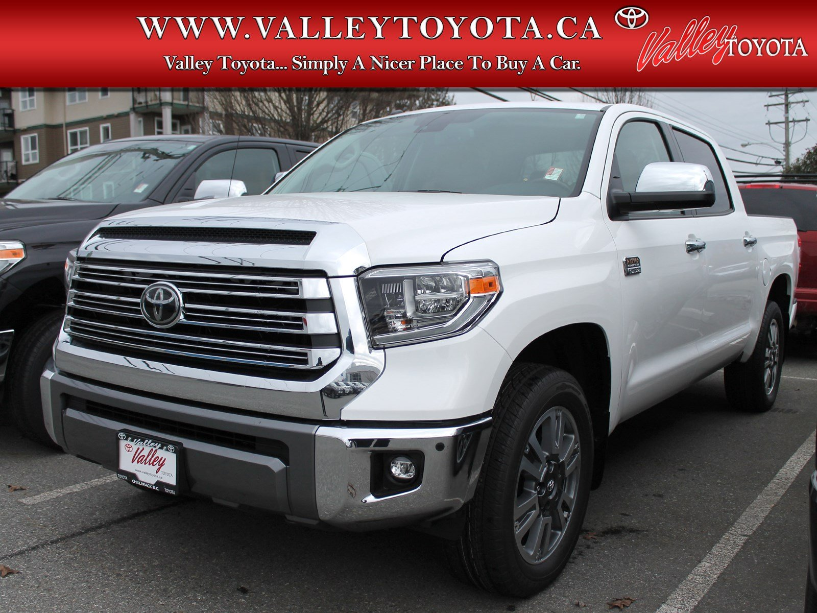New 2018 Toyota Tundra Platinum 1794 Edition Double Cab In Chilliwack 1a17587 Valley Toyota