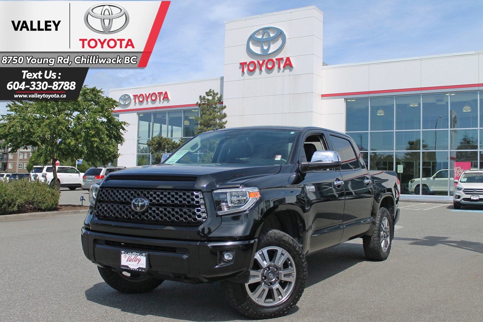 Pre-Owned 2018 Toyota Tundra PLATINUM / NO ACCIDENTS / ONE OWNER
