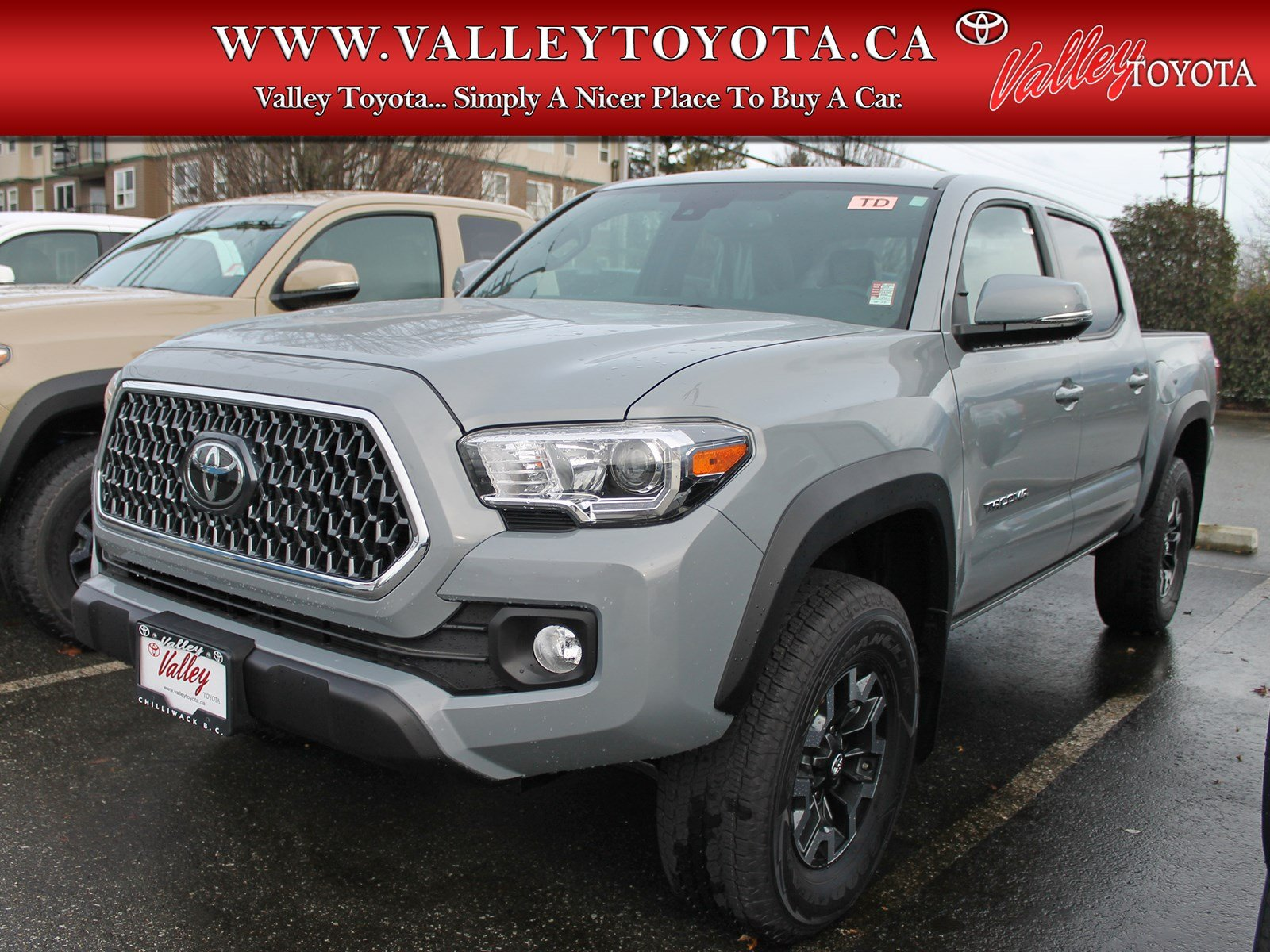 New 2019 Toyota Tacoma Trd Off Road Double Cab Pickup In Chilliwack