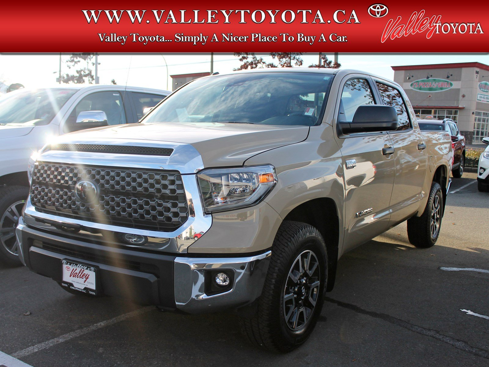 new 2018 toyota tundra trd off road double cab in chilliwack 1d17579 valley toyota. Black Bedroom Furniture Sets. Home Design Ideas