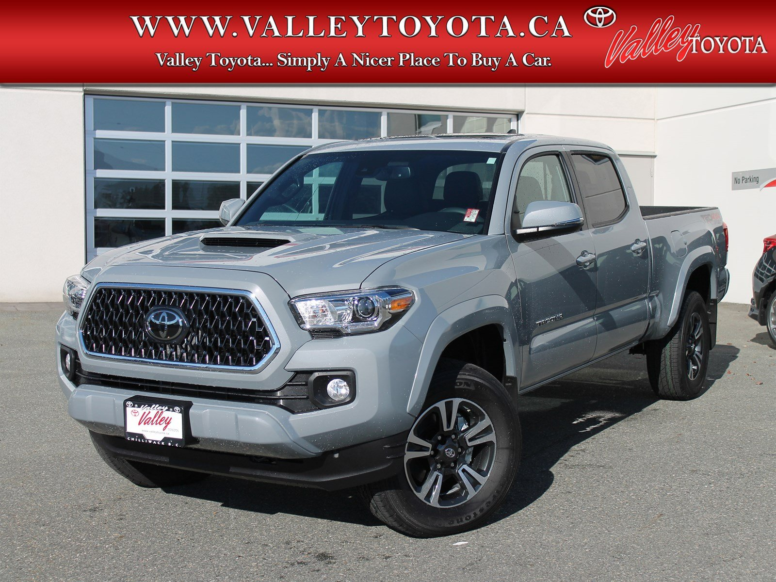 New 2019 Toyota Ta a TRD Sport Double Cab Pickup in Chilliwack