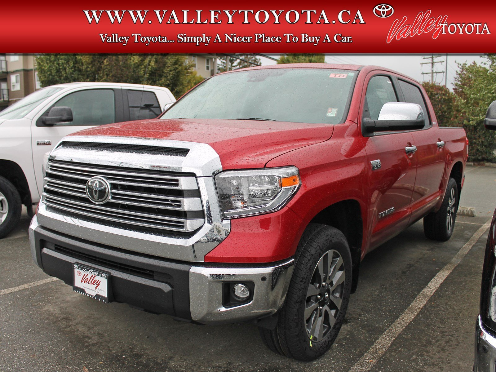 New 2019 Toyota Tundra Limited Double Cab in Chilliwack 1H