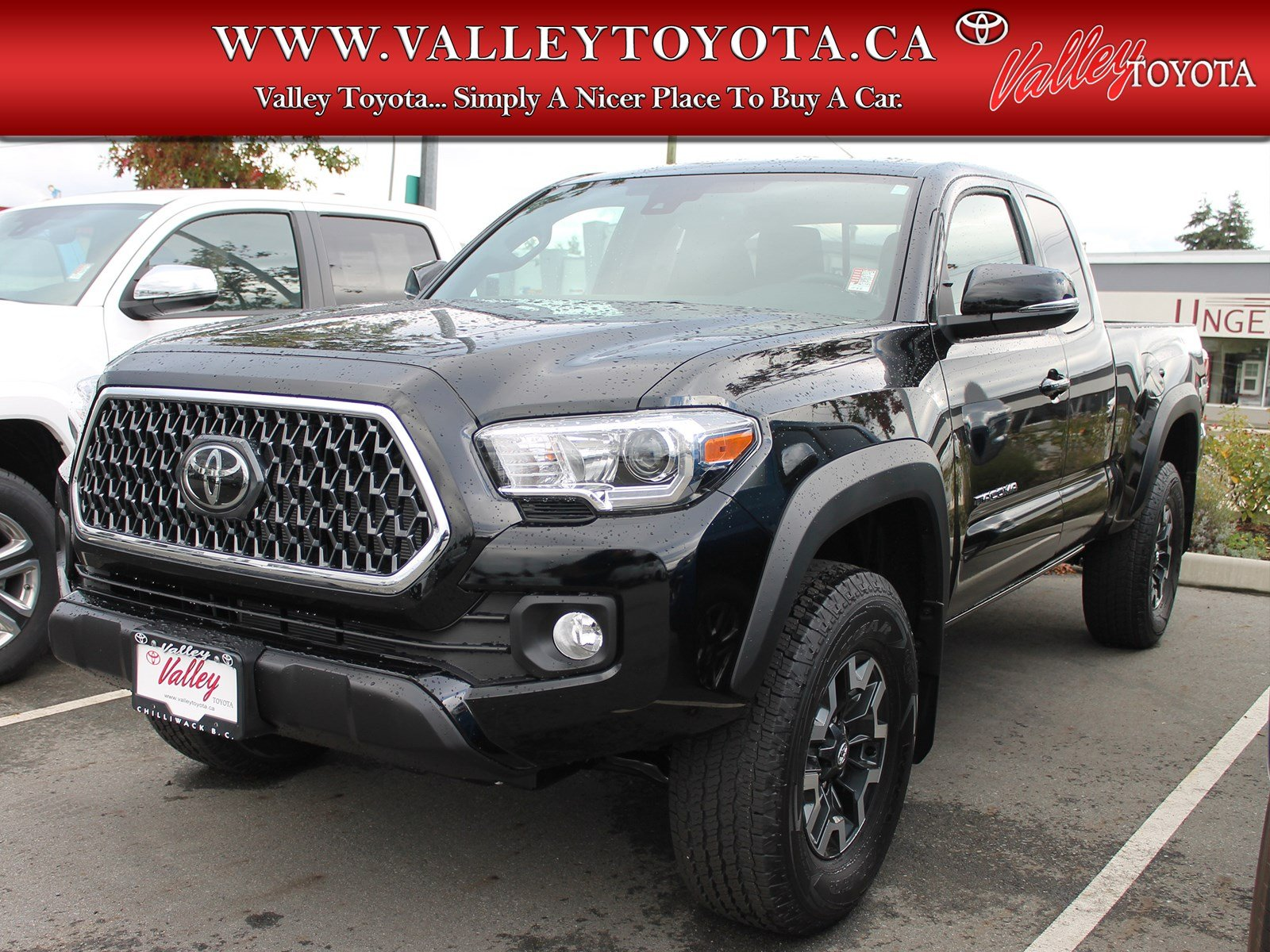 New 2019 Toyota Tacoma Trd Off Road Access Cab Pickup In Chilliwack