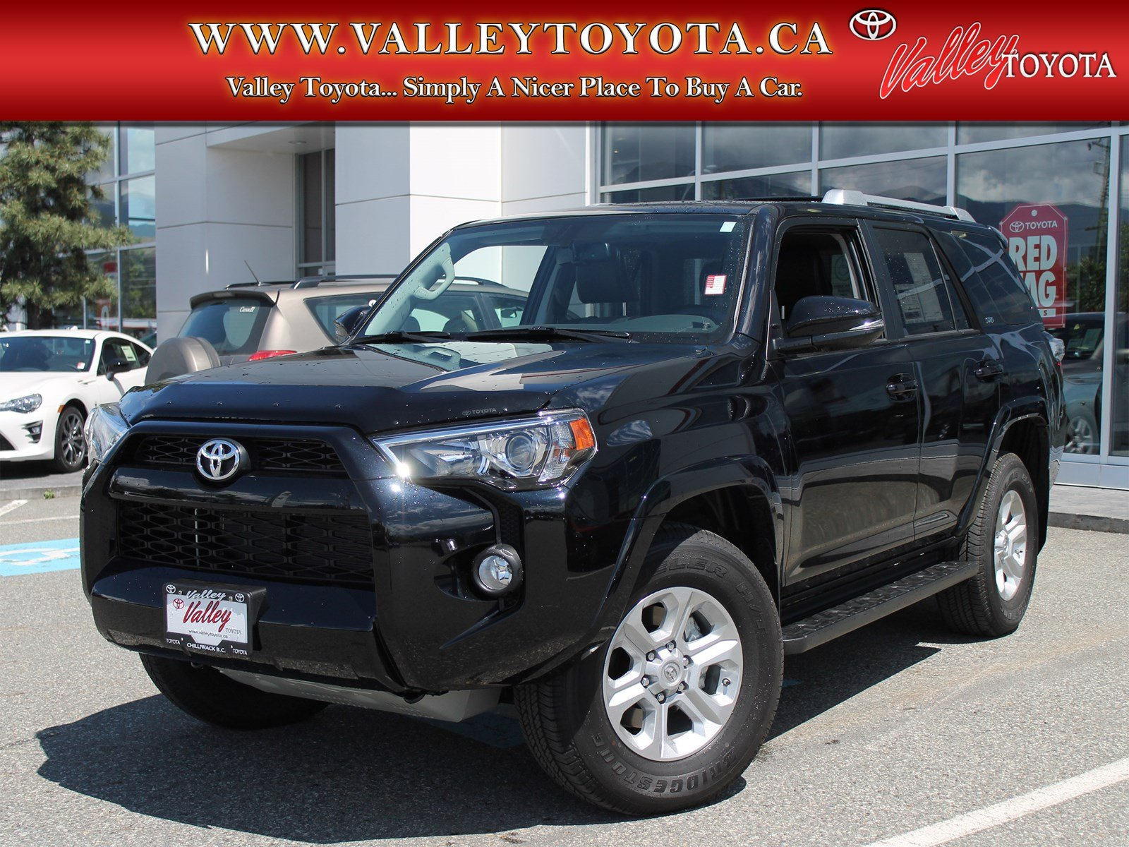 new 2017 toyota 4runner sr5 upgrade sport utility in chilliwack rb17074 valley toyota. Black Bedroom Furniture Sets. Home Design Ideas