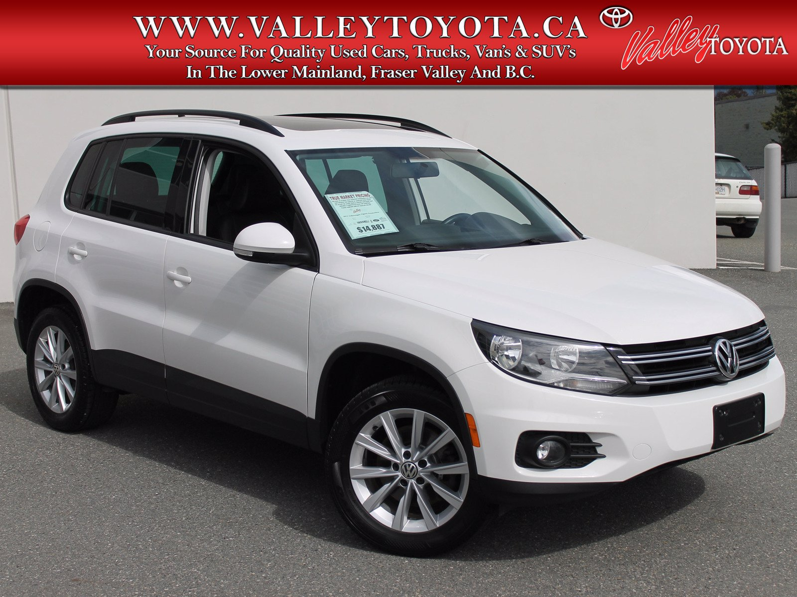 Pre-Owned 2013 Volkswagen Tiguan COMFORTLINE / PANORAMIC SUNROOF / BLUETOOTH