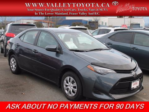 Certified Pre-Owned 2019 Toyota Corolla CE X-Service Car